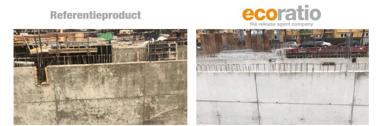 bouwplaats beton productie